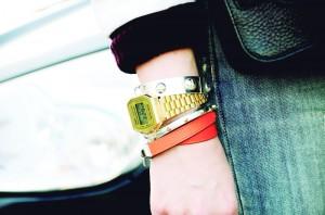 relogiosGold Casio Watch Paris Snappylifestyle