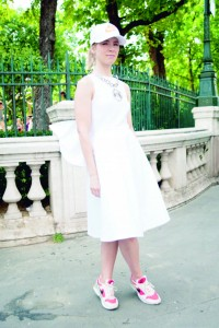 Street Style On July, 04 - Paris Fashion Week Haute Couture A/W 2012