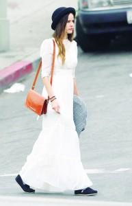 boho-chic-long-white-dress