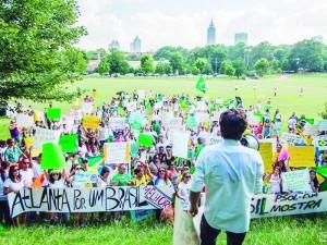 manifestacao Atlanta