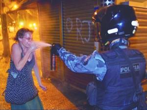 violencia - foto Victor Caivano - Associated Press