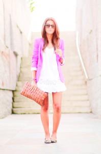 white-dress-look