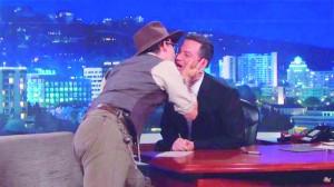 Beijo de Depp