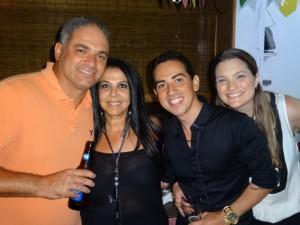 Nahor, Rosana, Renato e Stacy