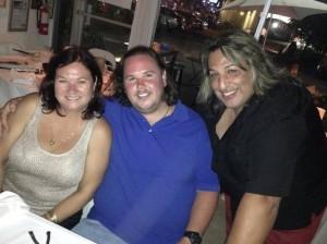 Isaac com a mae Leia e Mauro
