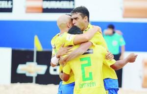 brasil beach soccer