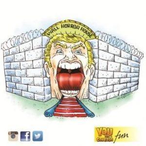 2016-06-07 - Trump WALL HORROR HOUSE - Copy