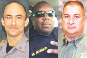 Os policiais mortos em Baton Rouge  foram Montrell Jackson, Matthew Gerald e Brad Garafola.