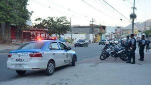 policiais presos - agencia brasil