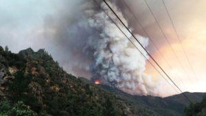 Incêndio Ferguson Yosemite National Park