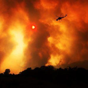 Incêndio no norte da Califórnia já matou cinco pessoas