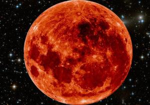 Lua sangue eclipse século 21 Nasa.