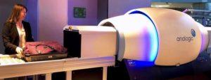 Câmera raio-x computadorizado 3D TSA