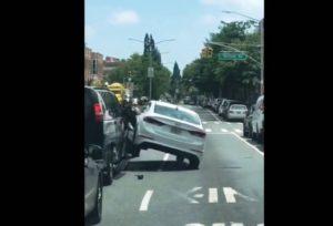 Briga de trânsito motoristas Nova York