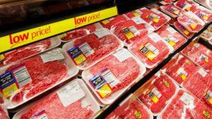 carne moída morte EUA