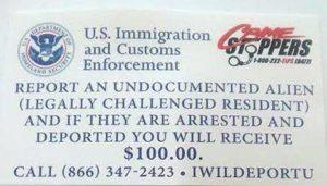 Polícia adverte sobre falso flyer oferecendo US$100 para entregar indocumentados na Flórida