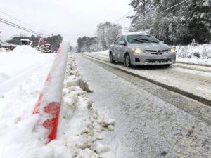 Neve no sudeste cancela voos e traz caos para região